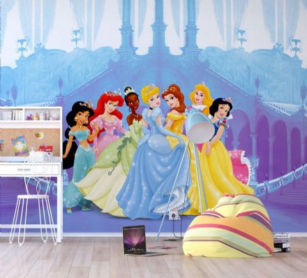 Princess Premium wall mural Disney wallpaper